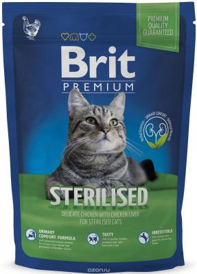 Брит Premium Cat Sterilised 300 г, шт